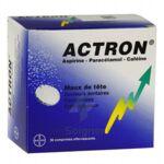 ACTRON, comprimé effervescent à Courbevoie