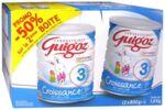 GUIGOZ LAIT CROISSANCE 3 2X800GR à Courbevoie