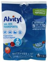 Alvityl Sucette Mal Des Transports Cola Fraise Sachet/10 à Courbevoie