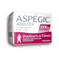ASPEGIC ADULTES 1000 mg, poudre pour solution buvable en sachet-dose 20 à Courbevoie