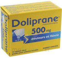 Doliprane 500 Mg Poudre Pour Solution Buvable En Sachet-dose B/12 à Courbevoie