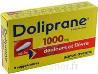 DOLIPRANE ADULTES 1000 mg, suppositoire à Courbevoie