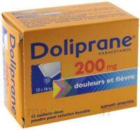 Doliprane 200 Mg Poudre Pour Solution Buvable En Sachet-dose B/12 à Courbevoie