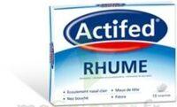 ACTIFED RHUME, comprimé à Courbevoie