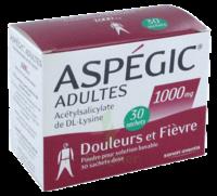 ASPEGIC ADULTES 1000 mg, poudre pour solution buvable en sachet-dose 30 à Courbevoie