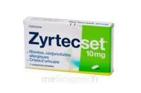 ZYRTECSET 10 mg, comprimé pelliculé sécable à Courbevoie