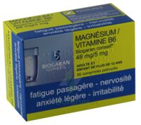 Magnesium/vitamine B6 Biogaran Conseil 48 Mg/5 Mg, Comprimé Pelliculé à Courbevoie