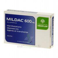 MILDAC 600 mg, comprimé enrobé à Courbevoie