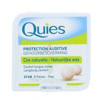 QUIES PROTECTION AUDITIVE CIRE NATURELLE 8 PAIRES à Courbevoie
