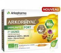 Arkoroyal Immunité Fort Solution Buvable 20 Ampoules/10ml à Courbevoie