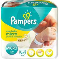 PAMPERS COUCHES NEW BABY MICRO 1-2,5 KG x 24 à Courbevoie