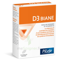Pileje D3 Biane Capsules 200 Ui - Vitamine D 30 Capsules à Courbevoie