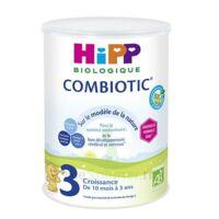 Hipp Lait 3 Combiotic® (nouvelle Formule Dha) Bio 800g à Courbevoie
