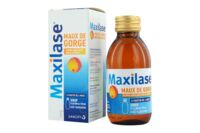 MAXILASE MAUX DE GORGE ALPHA-AMYLASE 200 U.CEIP/ml, sirop Fl/125ml à Courbevoie