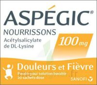 ASPEGIC NOURRISSONS 100 mg, poudre pour solution buvable en sachet-dose à Courbevoie