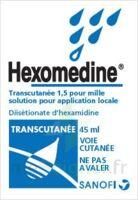 HEXOMEDINE TRANSCUTANEE 1,5 POUR MILLE, solution pour application locale à Courbevoie