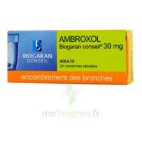 Ambroxol Biogaran Conseil 30 Mg, Comprimé Sécable à Courbevoie