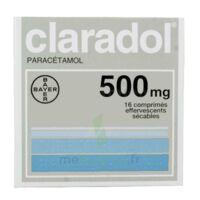 CLARADOL 500 mg, comprimé effervescent sécable à Courbevoie