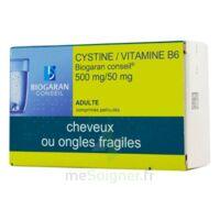 CYSTINE/VITAMINE B6 BIOGARAN CONSEIL 500 mg/50 mg Cpr pell Plq/120 à Courbevoie