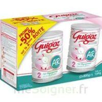 GUIGOZ LAIT EXPERT AR2 LOT DE 2X800GR à Courbevoie