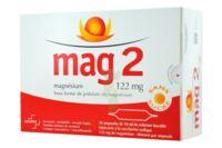 MAG 2 SANS SUCRE 122 mg, solution buvable en ampoule édulcoré à la saccharine sodique à Courbevoie