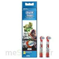 Oral-b Stages Power Star Wars 2 Brossettes à Courbevoie