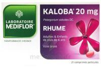 KALOBA 20 mg Cpr pell Plq/21 à Courbevoie