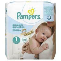 Pampers couches new baby sensitive taille 1 - 21 couches à Courbevoie