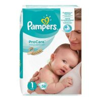 PAMPERS PROCARE PREMIUM Couche protection T1 2-5kg Paq/38 à Courbevoie