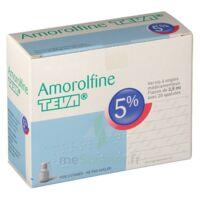 Amorolfine Teva 5 % Vernis Ongl Médic Médicamenteux 1fl Ver/2,5ml+spat à Courbevoie