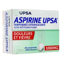 ASPIRINE UPSA TAMPONNEE EFFERVESCENTE 1000 mg, comprimé effervescent à Courbevoie