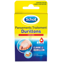 Scholl Pansements Coricides Durillons à Courbevoie
