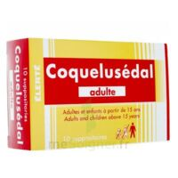 COQUELUSEDAL ADULTES, suppositoire à Courbevoie