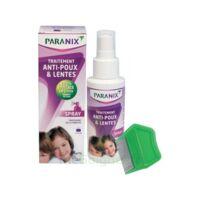 Paranix Solution antipoux Huiles essentielles 100ml+peigne à Courbevoie
