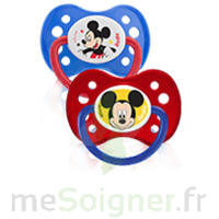 Dodie Disney Sucette anatomique silicone +6mois Mickey Lot/2 à Courbevoie