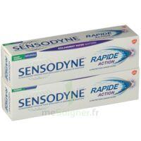 Sensodyne Rapide Pâte dentifrice dents sensibles 2*75ml à Courbevoie