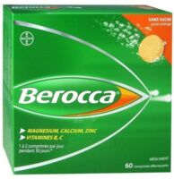 Berocca Comprimés Effervescents Sans Sucre T/60 à Courbevoie