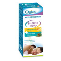 Quies Bi-Pack 2 Sprays buccal et nasale anti-ronflement à Courbevoie