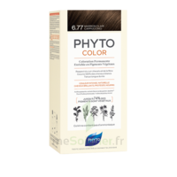 Phytocolor Kit Coloration Permanente 6.77 Marron Clair Cappuccino à Courbevoie