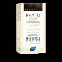 Phytocolor Kit Coloration Permanente 5.7 Châtain Clair Marron à Courbevoie