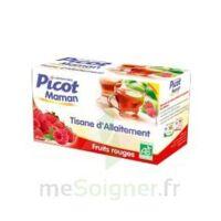 Picot Maman Tisane D'allaitement Fruits Rouges 20 Sachets à Courbevoie