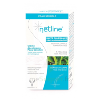 Netline Crème visage/corps décolorante peau sensible 30+30ml à Courbevoie