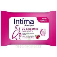 Intima Gyn'expert Lingettes Cranberry Paquet/30 à Courbevoie
