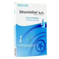 Desomedine 0,1 % Collyre Sol 10fl/0,6ml à Courbevoie