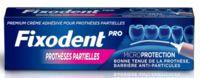 Fixodent Pro Crème Adhésive Pour Prothèse Partielle T/40g à Courbevoie